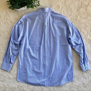 MICHAEL Michael Kors Shirts - Michael Kors blue white check button up shirt